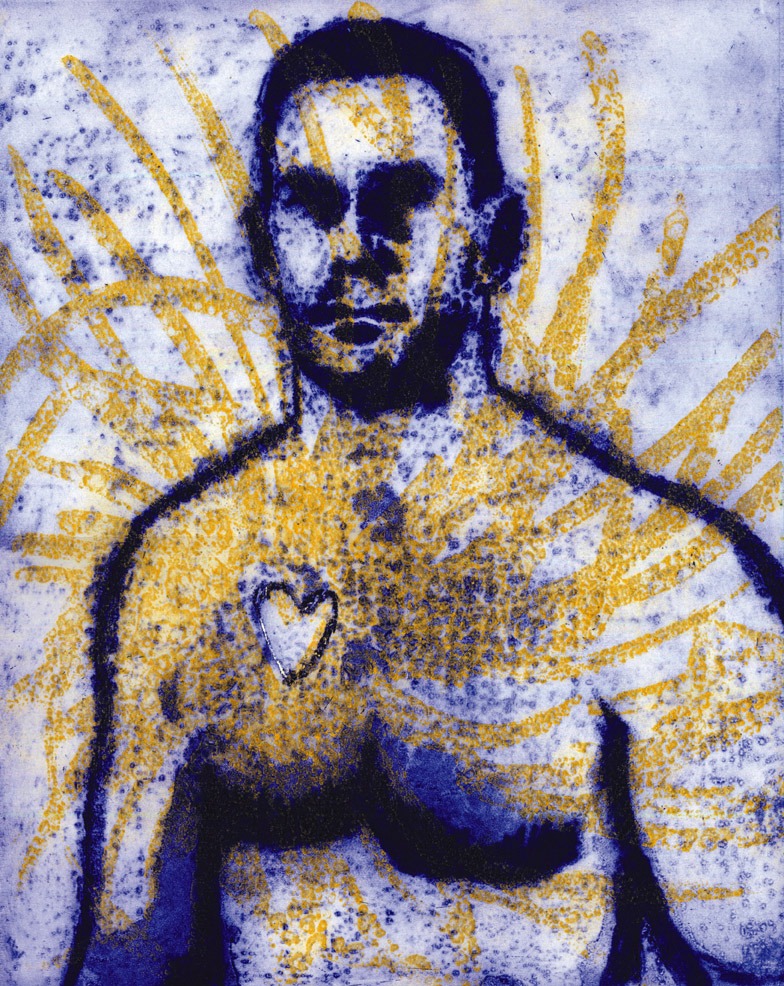 Artwork - Love Me 2 plate etching Print | Steve Edwards - 2 plate etching